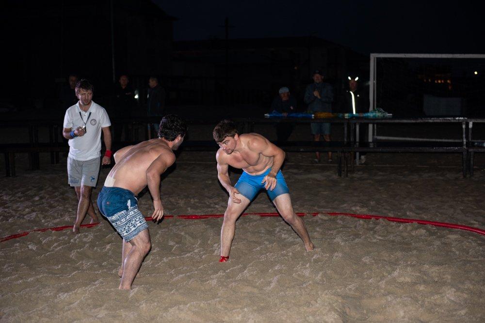 В курортной Затоке прошел Международный турнир по пляжной борьбе