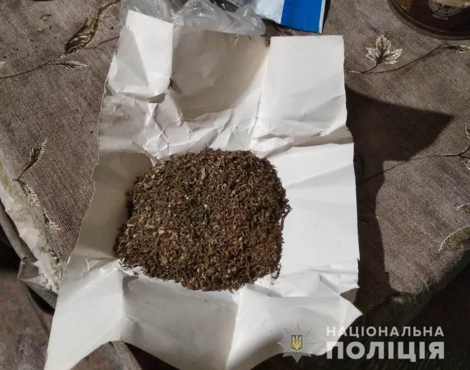 Измаильские полицейские и пограничники изъяли оружие и наркотики