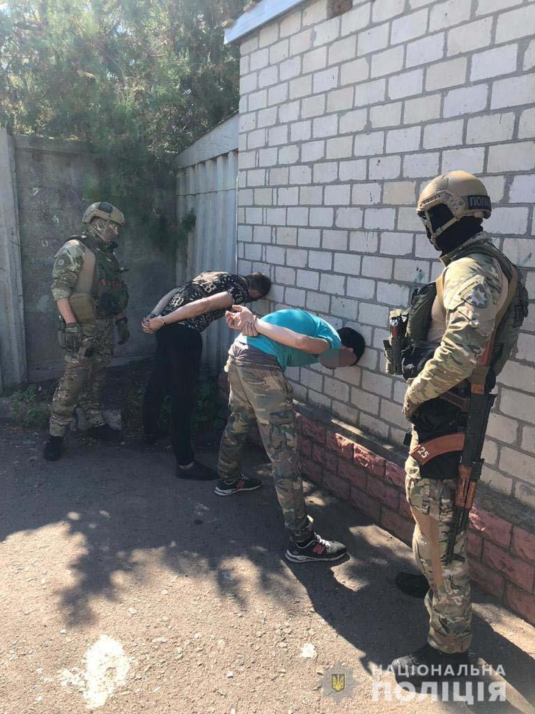 В Одесской области задержали банду, совершившую сегодня утром дерзкое нападение на инкассаторов