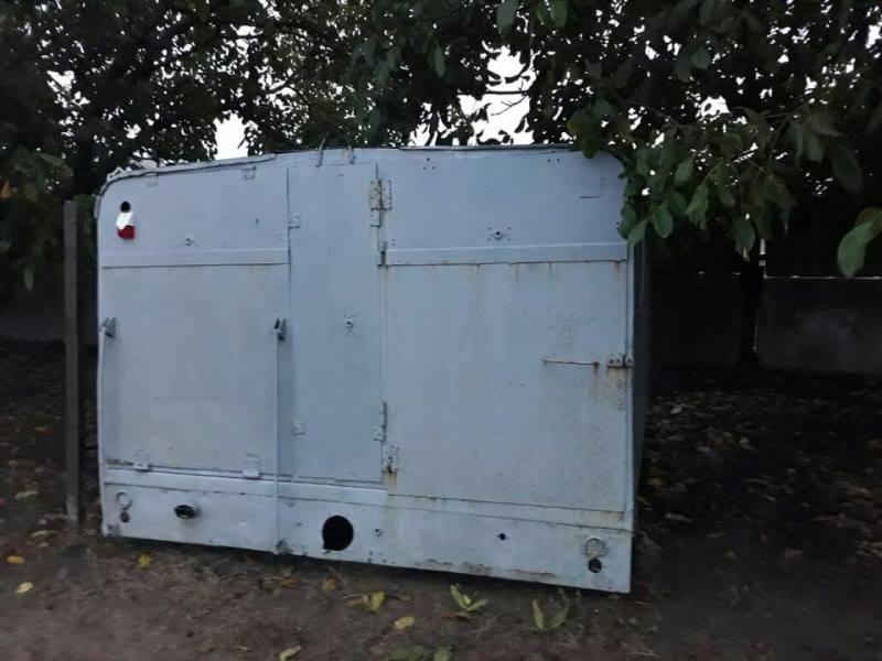 В Шабо в обычном гараже нашли ракеты класса «земля-воздух» и противоградные ракетные комплексы