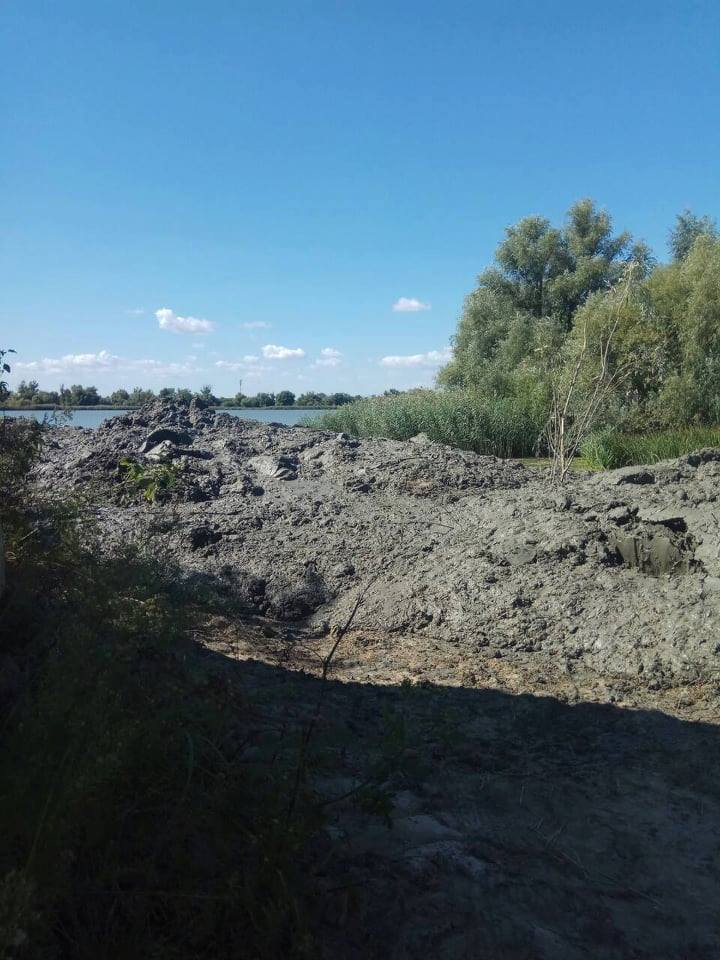 В Вилково закончили работы по дноуглублению. На очереди - очистка подводящего канала (ФОТО)