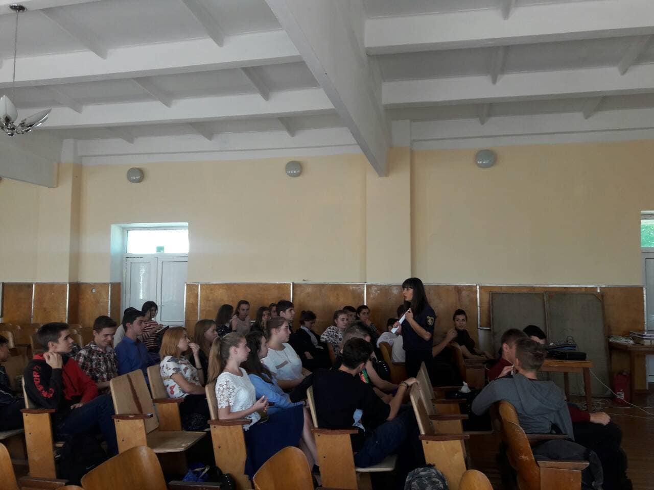 Измаильским школьникам рассказали, почему стоит получить профессию спасателя и куда пойти учиться