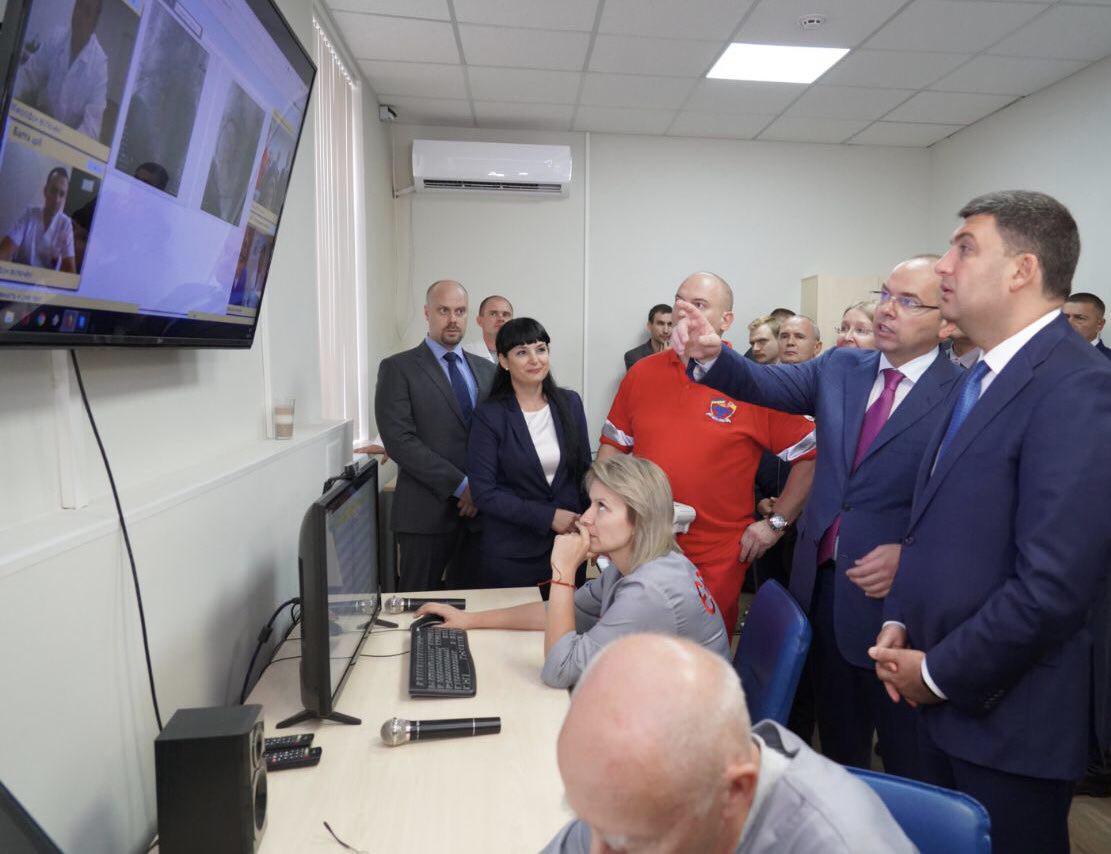 В Одесской области время передачи вызова от пациента к бригаде «скорой» сокращено в семь раз