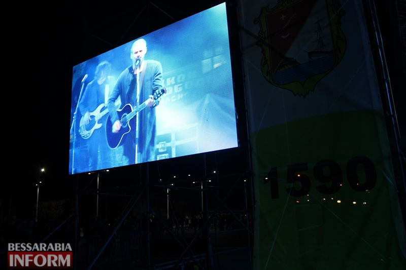 "Звезда шоу ""Голос країни"" Арсен Мирзоян выступил в Измаиле на Дне города"