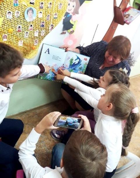 """В Болградском районе первоклашки и учителя высоко оценили возможности """"Живой Азбуки"""""""
