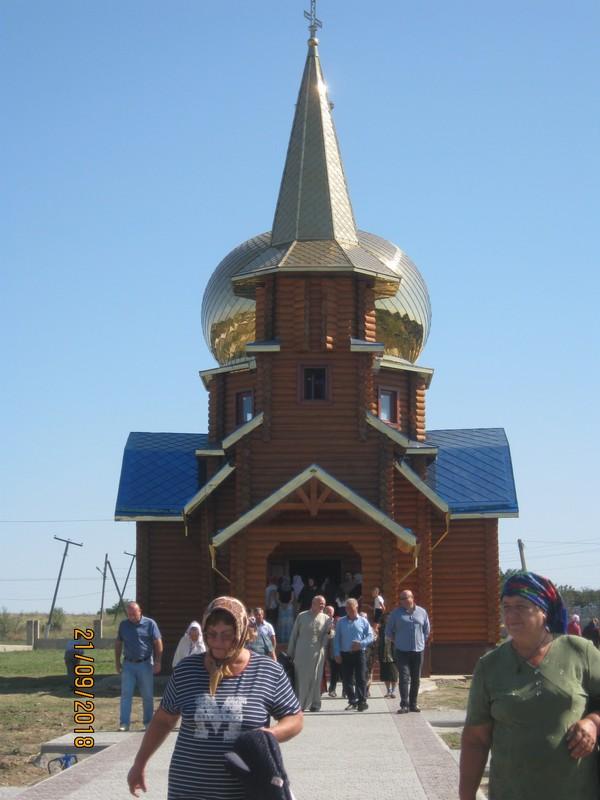 Самая необычная и красивая в округе: в Саратском районе открыли новую церковь