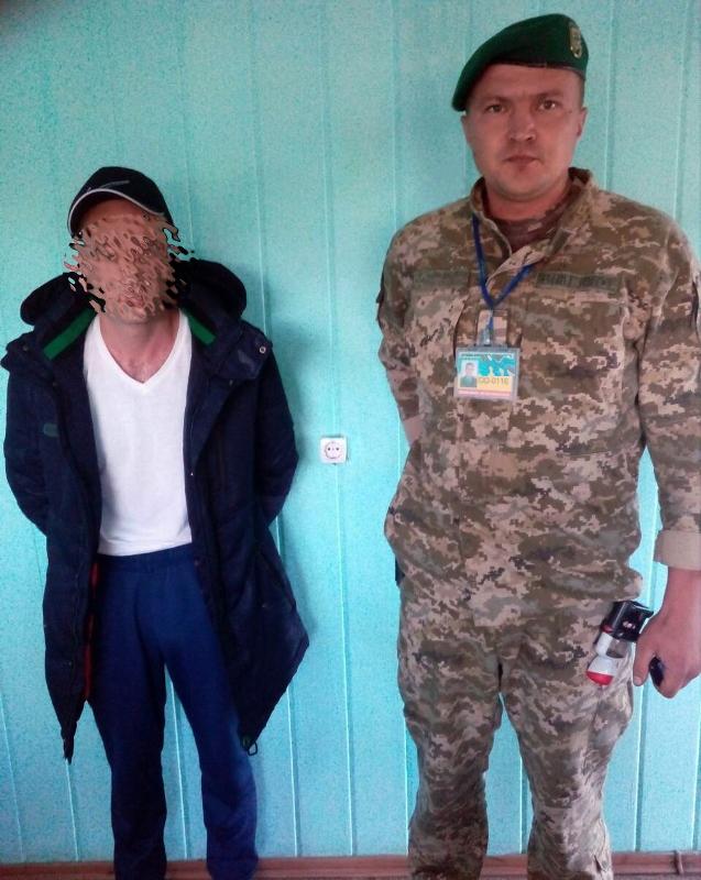 Разыскиваемого Интерполом иностранца задержали на границе в Болградском районе