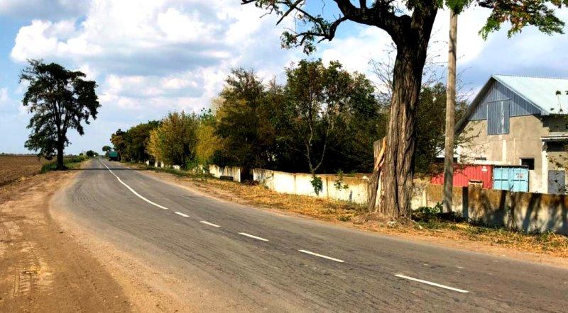 Измаильский р-н: сдана в эксплуатацию автодорога Суворово-Першотравневое