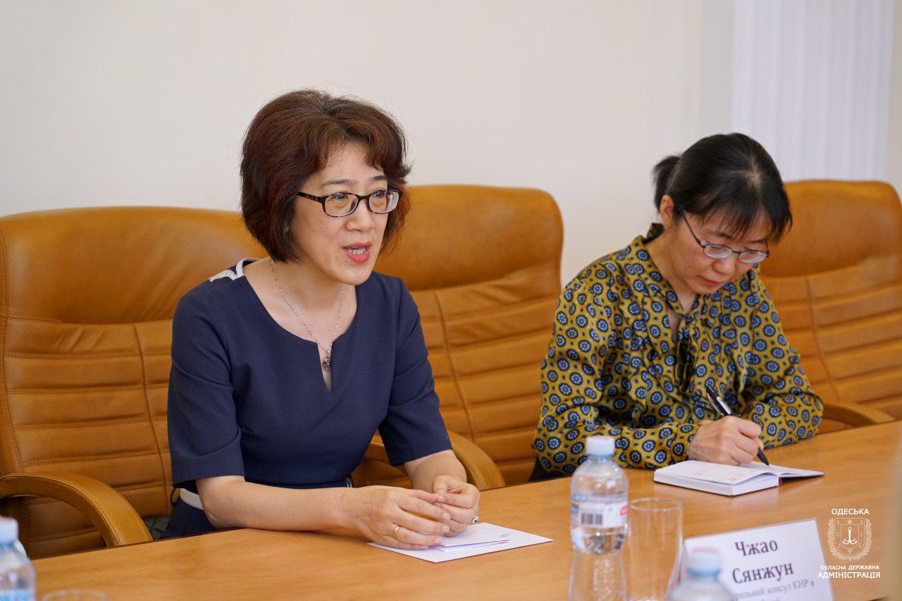 Соглашение о сотрудничестве Одесской области с Китаем подпишут до конца года