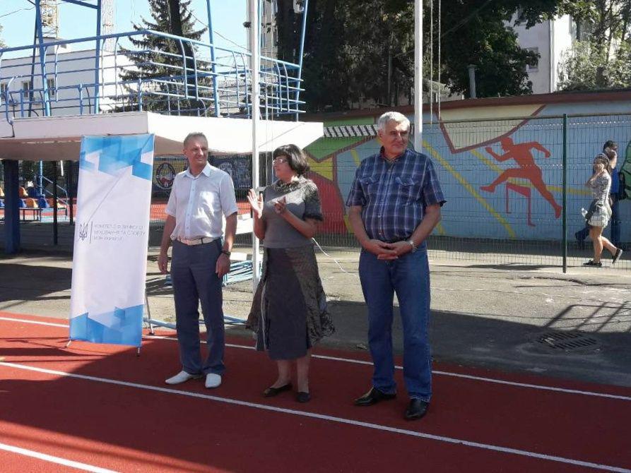 Более 300 студентов Одесской области участвовали в спартакиаде по легкой атлетике