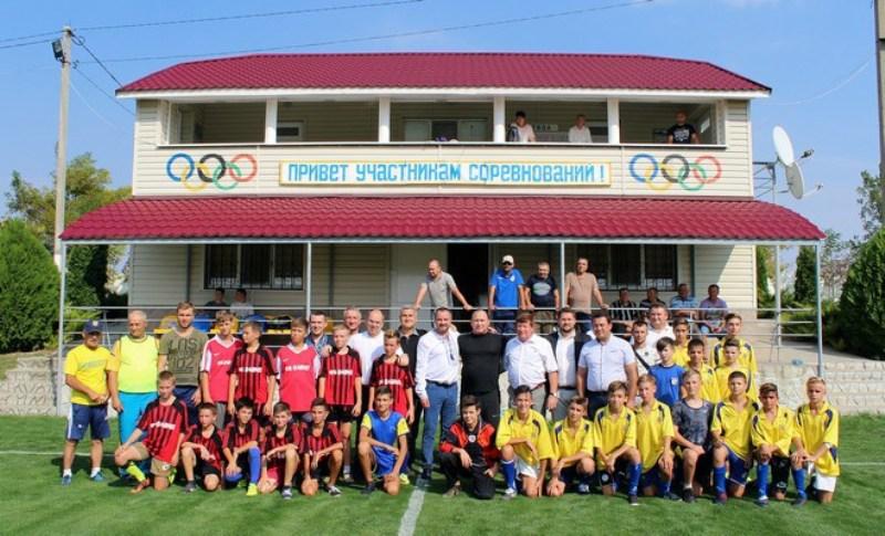 Сельское поле названо лучшим на Измаильщине - Президент Федерации футбола Украины подтвердил