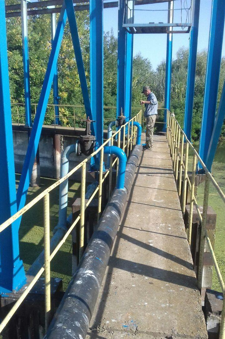 Главный шлюз-регулятор Белгород-Днестровской оросительной системы обновили (ФОТО)