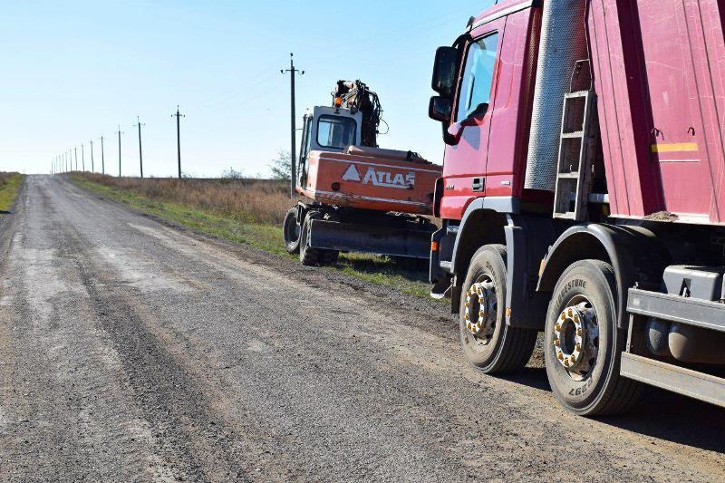 В Тарутинском районе обустраивают временный проезд на участке Лесное-Анновка-Елизаветовка