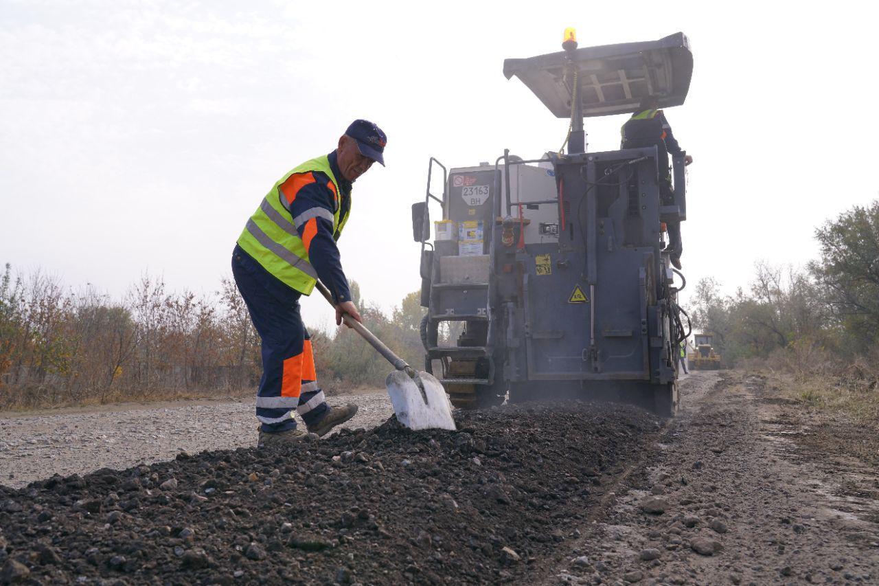 В Одесской области ремонтируют дорогу «Тарутино - Арциз - Сарата» (ФОТО)