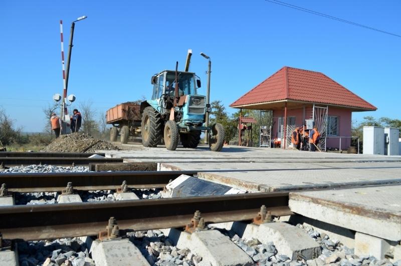 В Одесской области железнодорожные переезды ремонтируют по европейским стандартам
