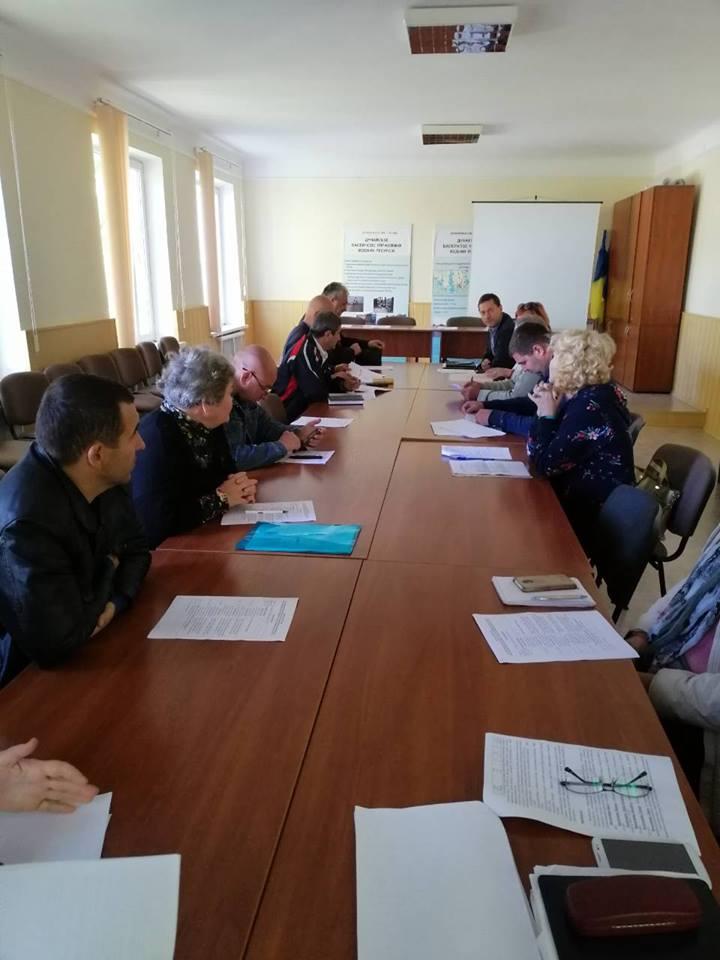 В Измаиле обсудили функционирование Придунайских водохранилищ в осенне-зимний период