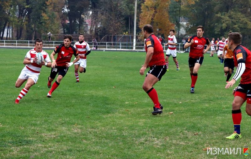 В Измаил пришел новый вид спорта – большое регби