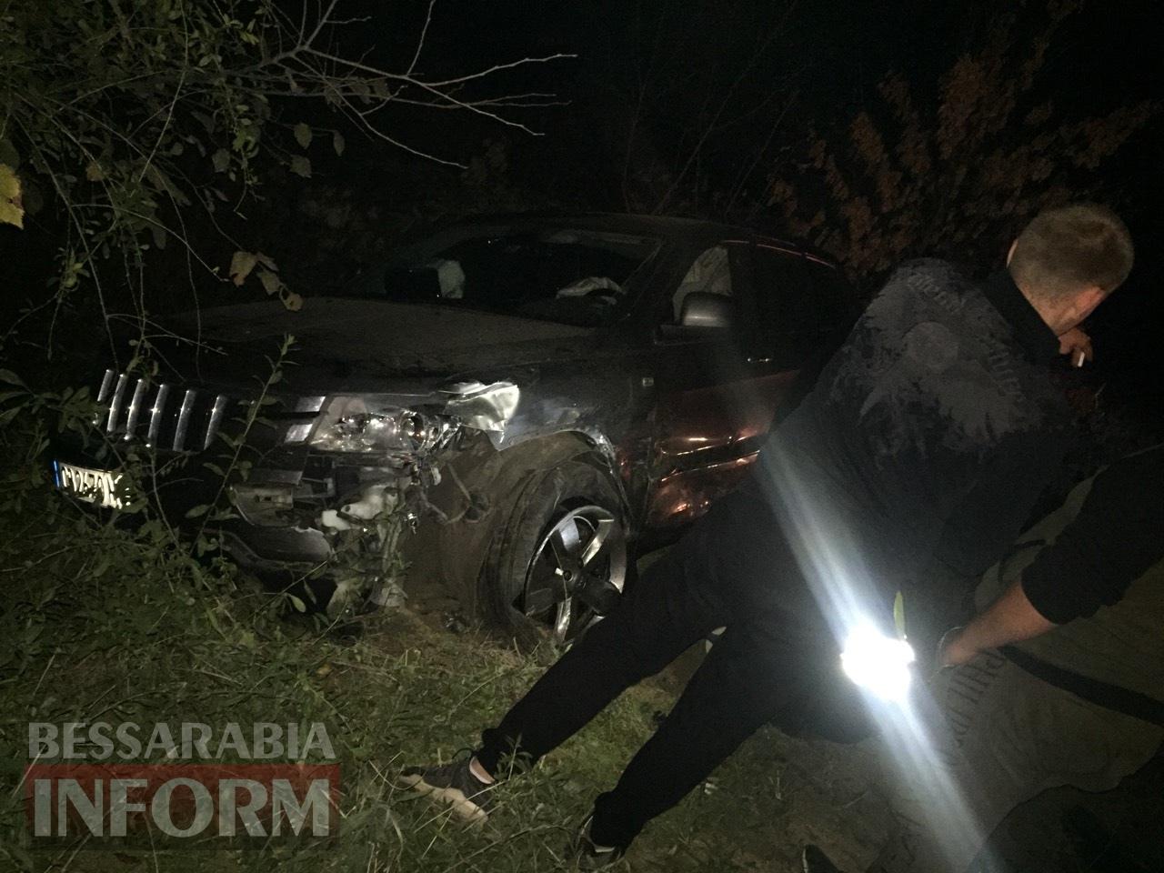 Лобовое столкновение на трассе Одесса-Рени: есть погибший и пострадавшие