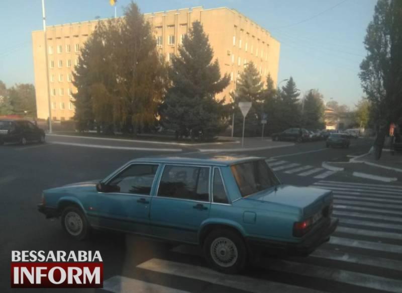 В Измаиле на площади Победы возле горсовета сбили пешехода (ФОТО)