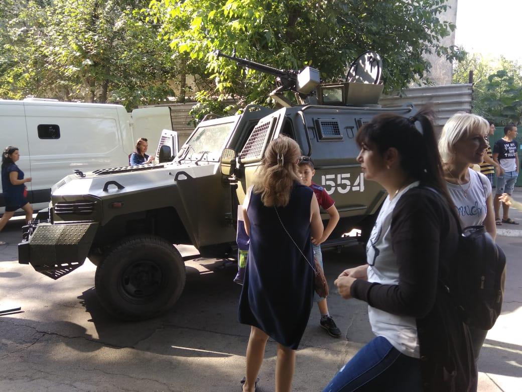 Ко Дню города Килия пограничники Измаильского отряда устроят выставку военной техники и вооружения