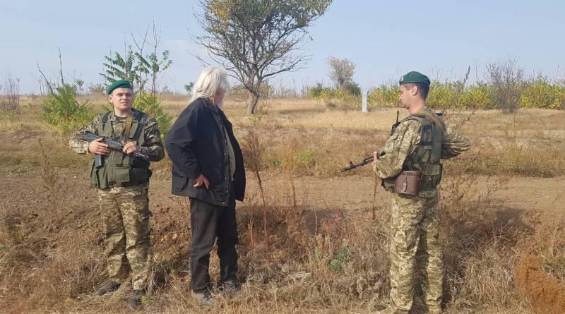 Измаильские пограничники обнаружили загадочного немца, гуляющего по Ренийскому району без документов (ФОТО)