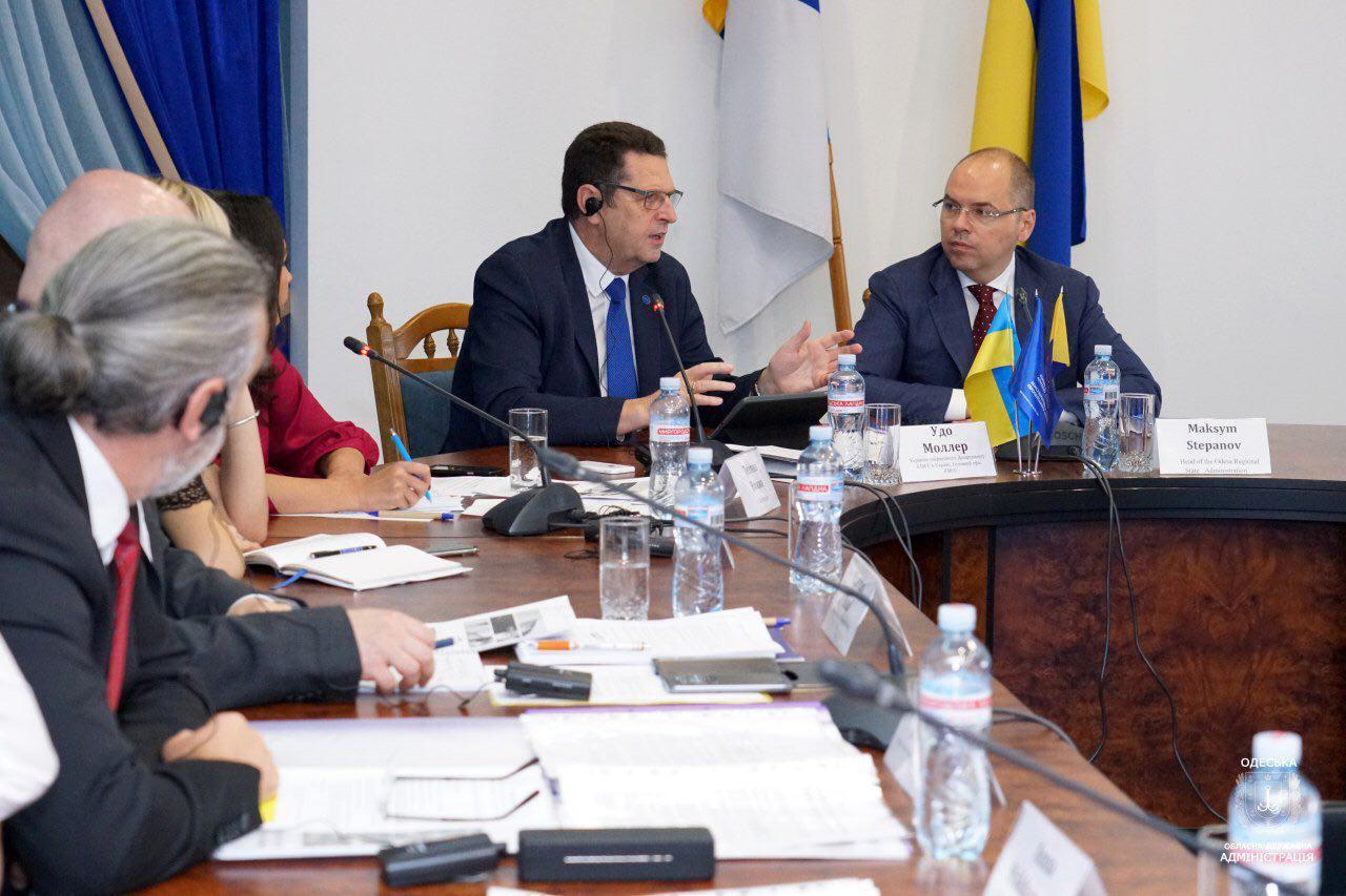 В Одесской области разрабатывают свою программу по повышению безопасности дорожного движения