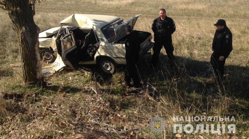 Смертельное ДТП в Саратском районе: водитель умер в машине скорой
