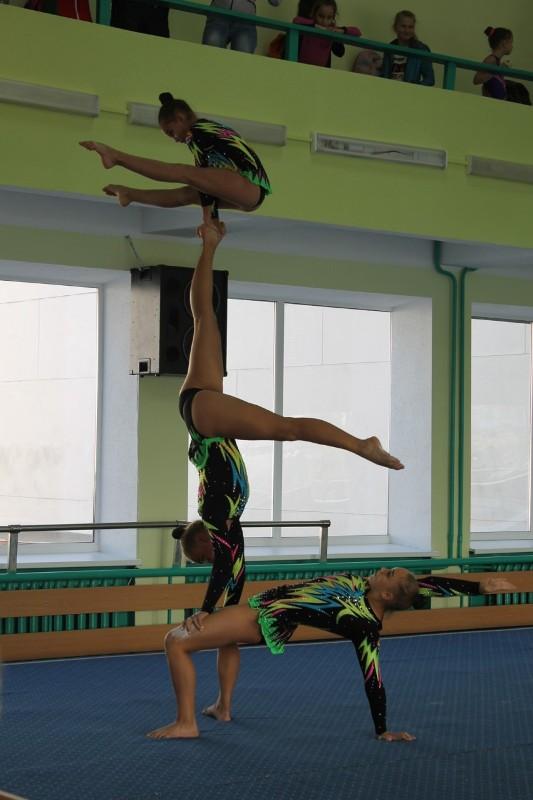 Аккерманские акробатки стали призерами международного турнира (фото)