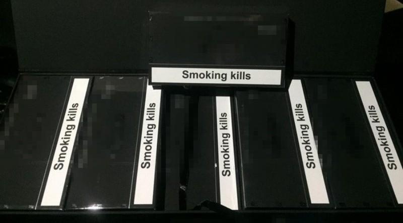 На Одесчине СБУ блокировала контрабанду сигарет из Южного Кавказа
