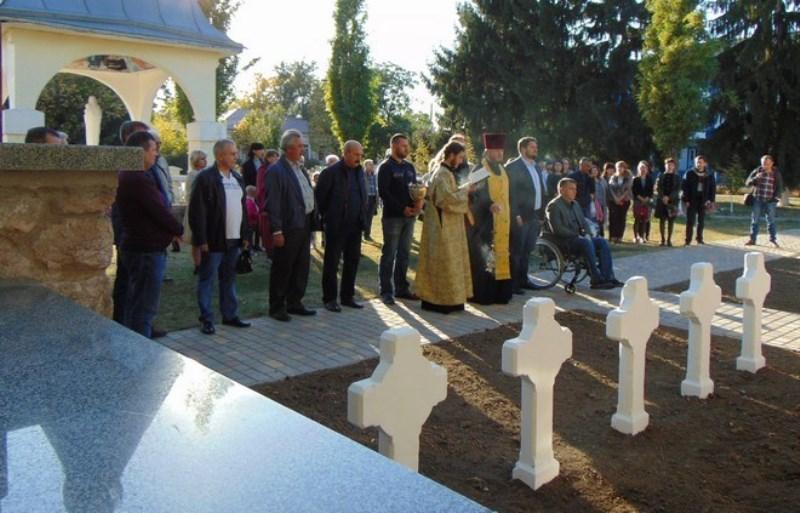 В Рени после реставрации открыли знаменитый памятник с орлом