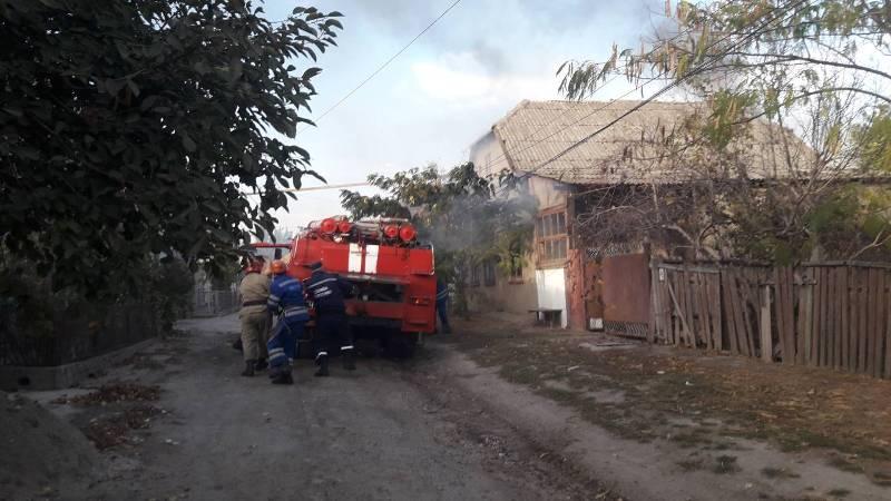 В Измаиле горел жилой дом: пожарные больше часа боролись с огнем (ФОТО)