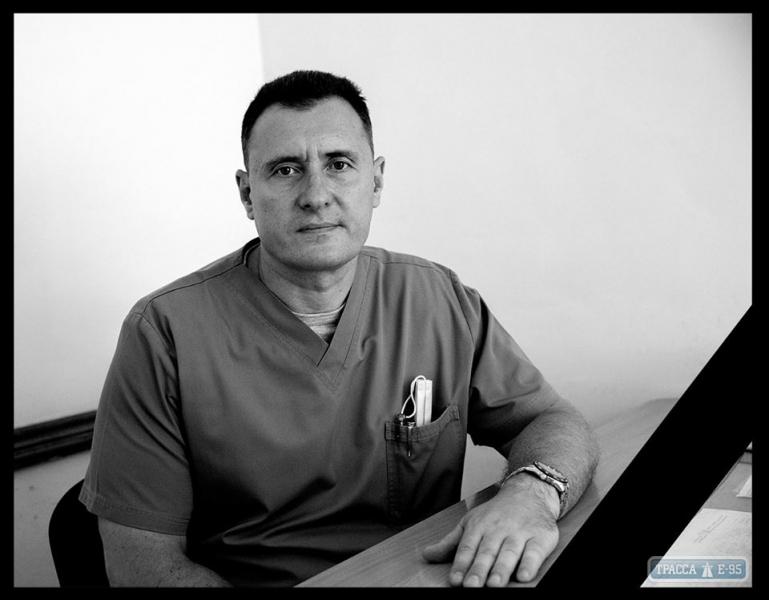 Один из лучших хирургов Одесского военного госпиталя скоропостижно скончался прямо на рабочем месте