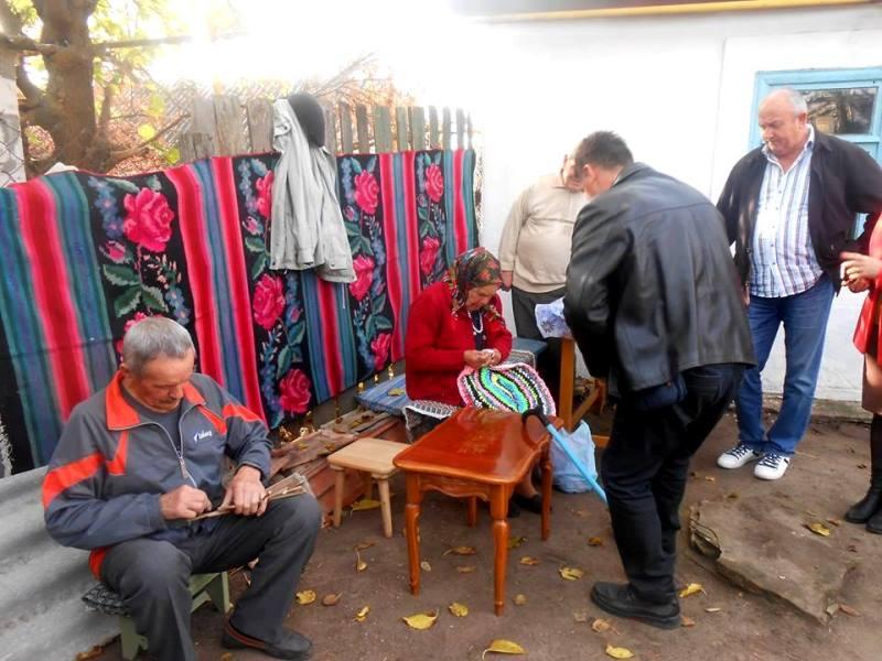 Болградский р-н: в селе Кубей для туристов проводят мастер-классы по народным ремеслам