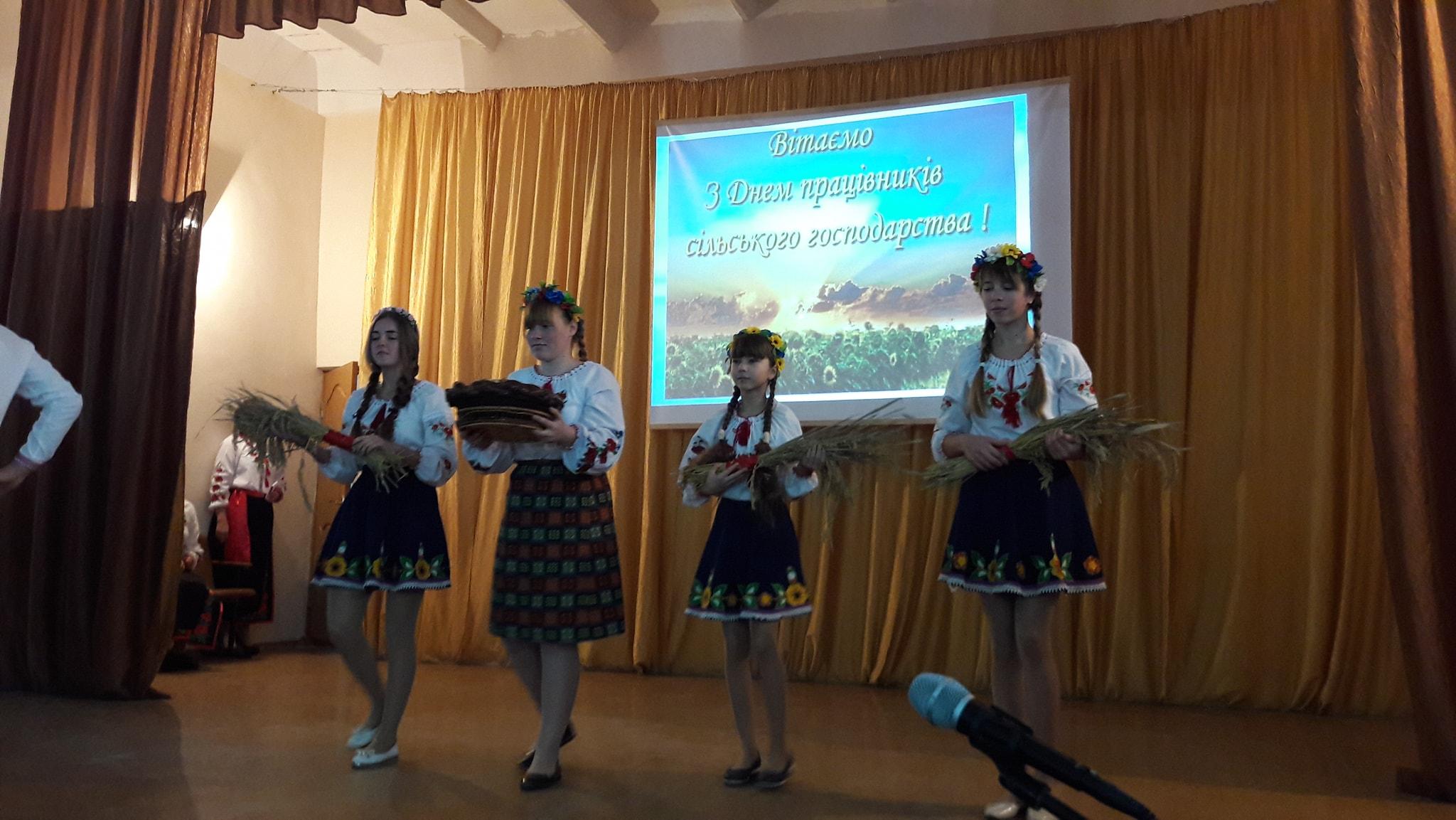В селе Килийской ОТГ отпраздновали День сельского хозяйства