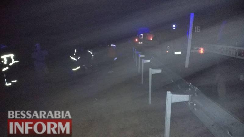 Смертельное ДТП в Белгород-Днестровском районе: погибла женщина, два человека в тяжелом состоянии (ФОТО)