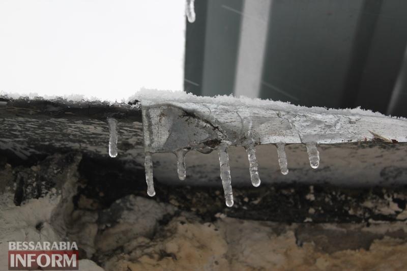 Осень с зимой встретились: в Бессарабии выпал первый снег