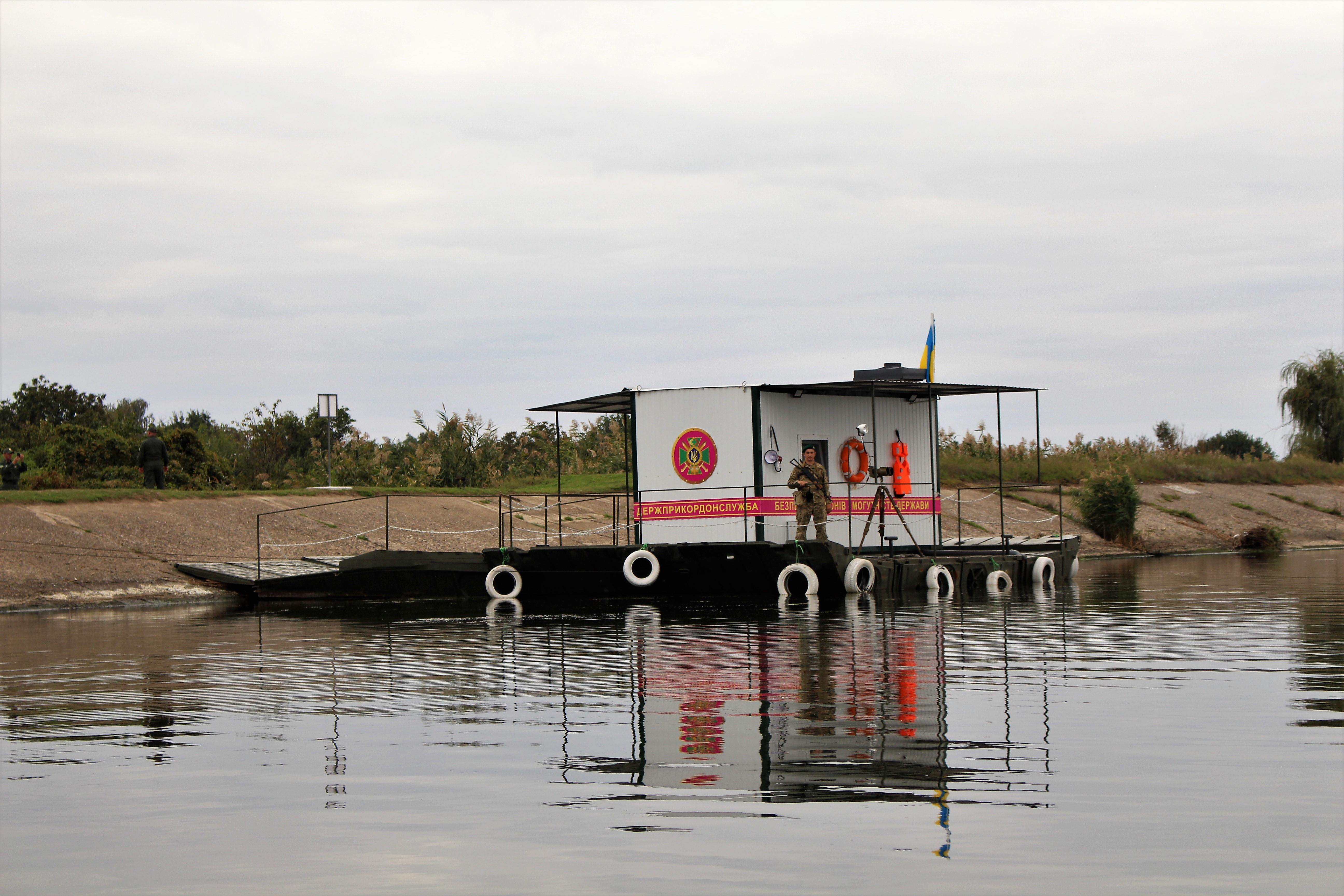 Плавучий пост - как средство мониторинга водных рубежей Белгород-Днестровскими пограничниками