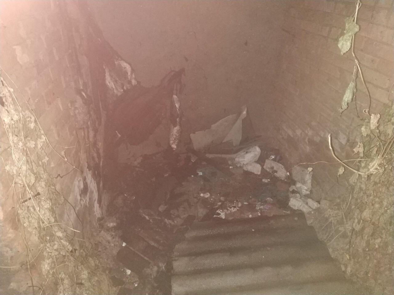 Пожар, возникший в Килии во дворе многоэтажки, перекинулся на сарай