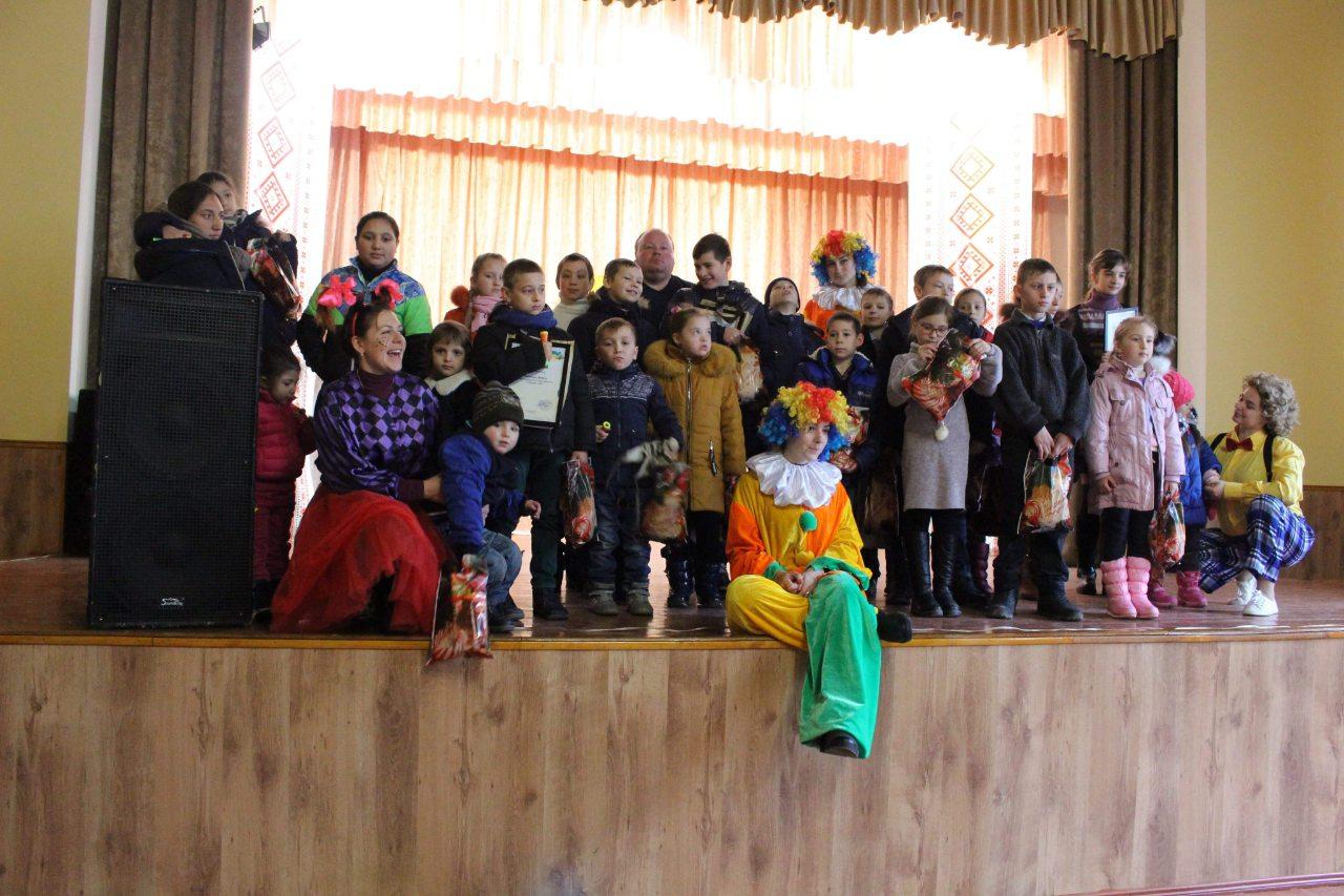 В Татарбунарах для детей с инвалидностью устроили праздник