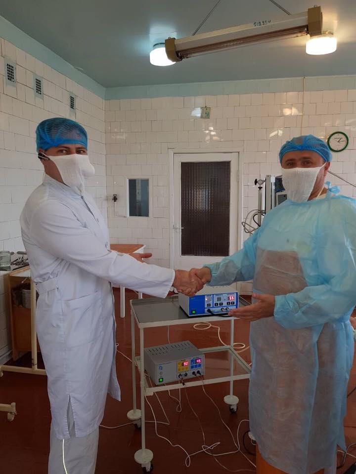 Инновационный прорыв: в Килии впервые в Украине в условиях райбольницы провели операцию с использованием биосварки