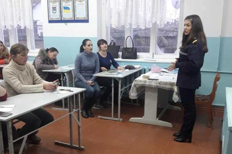 Время определяться с выбором: спасатели Измаила провели профориентационную работу с родителями старшеклассников