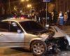 «Евробляха» vs мусоровоз: ДТП в центре Одессы закончилось дракой