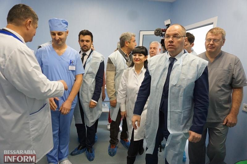 Реперфузионный центр на базе ДОБ в Измаиле запущен: выполнены первые операции на сердце