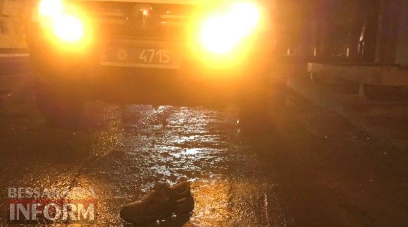 Переломы обеих ног и множественные телесные повреждения: в Измаиле ночью сбили пешехода