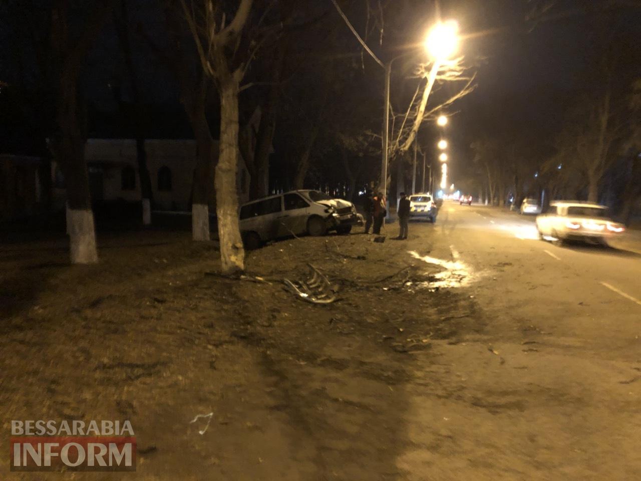 В Измаиле перекресток проспекта Суворова и Репина не поделили два автомобиля Mercedes-Benz