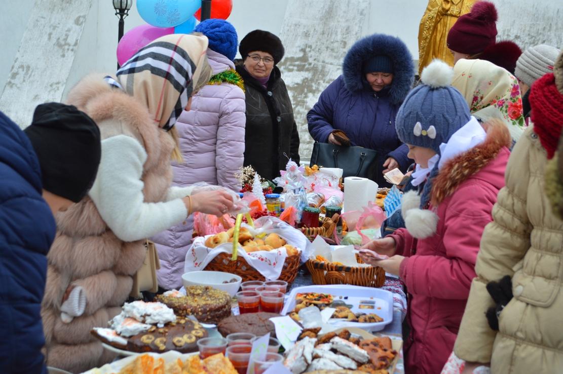 В древней полуподземной церкви Килии отметили храмовый праздник: прихожане подготовили благотворительную ярмарку