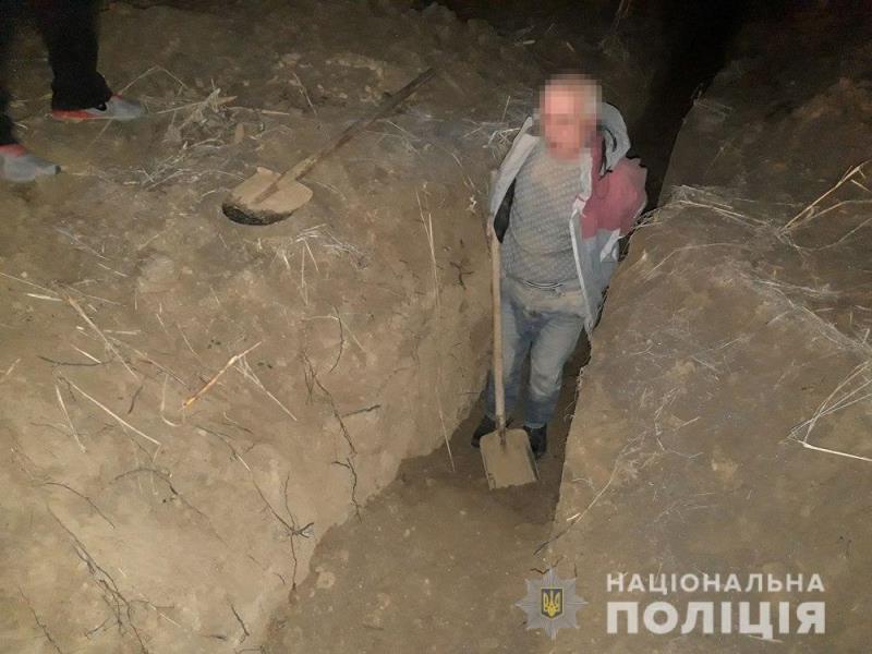 В Рени вор пытался выкопать чугунный водовод, едва не оставив город без воды