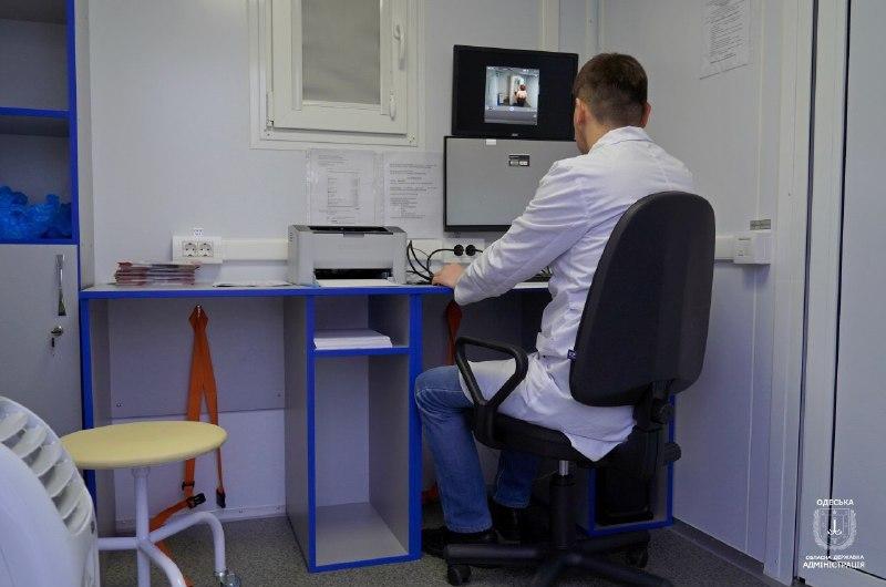 Новый медицинский проект: по районам Одесской области будут ездить поликлиники на колесах