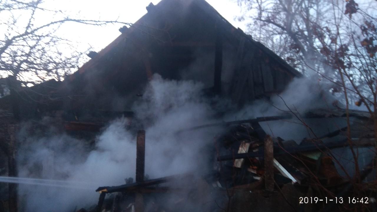 В Измаильском районе пожар уничтожил часть дома и сарай