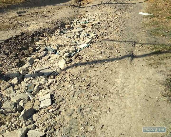 Село в Болградском районе получило 1,5 миллиона гривен на капремонт центральной улицы